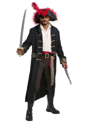 Men's Shipwreck Captain Costume