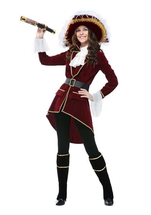 Captain Hook Womens Costume
