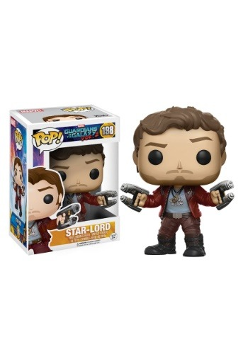 POP Guardians 2 Star-Lord Bobblehead Figure