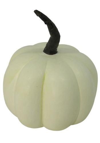 "5"" x 6"" Cream Pumpkin Halloween Decor"