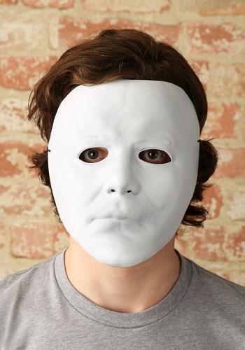 Adult Halloween Michael Myers Vacuform Mask