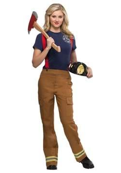 Women's Fire Captain Costume