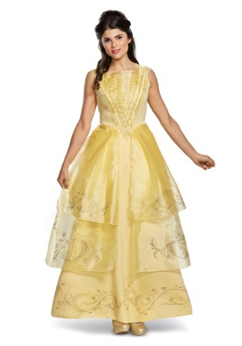 Belle Deluxe Adult Ball Gown