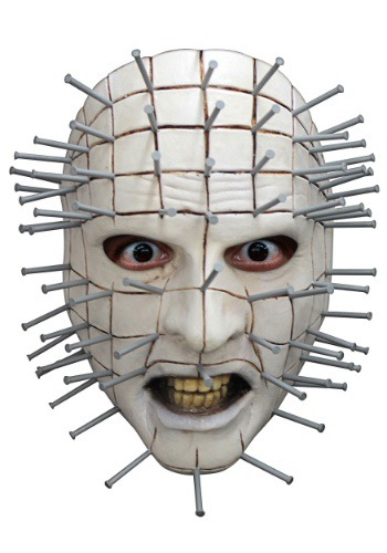 Adult Hellraiser Pinhead Face Mask