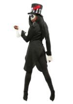 Women's Plus Size Voodoo Skeleton Costume 2