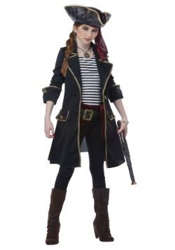 Girls High Seas Captain Costume