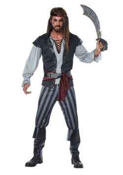 Scallywag Pirate Men's Costume
