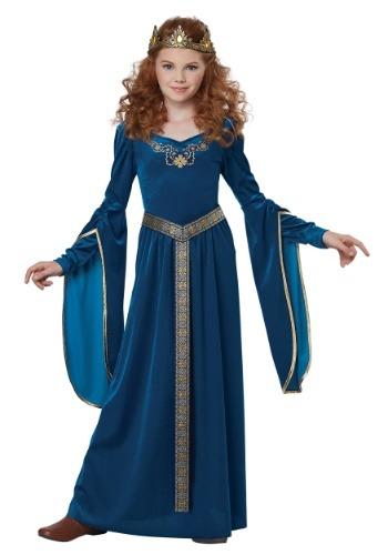 Girls Medieval Princess Costume-update1