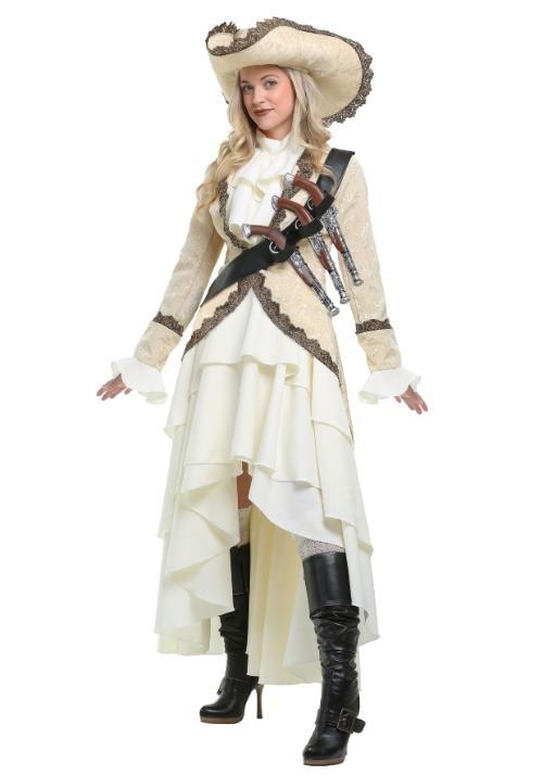 Women's Captivating Pirate Plus Size Costume