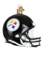 Pittsburgh Steelers Glass Helmet Ornament