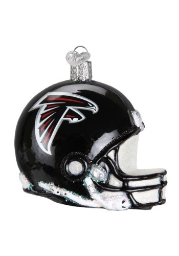 Atlanta Falcons Helmet Glass Ornament