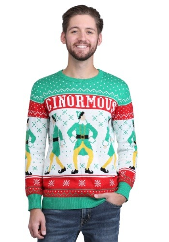 Elf Ginormous Adult Knit Sweater
