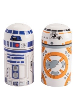 Star Wars R2D2 & BB-8 Salt & Pepper Set