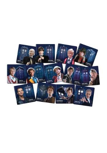 Doctor Who 13 pc Coaster Set