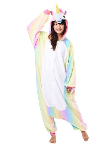 Adult Rainbow Unicorn Kigurumi