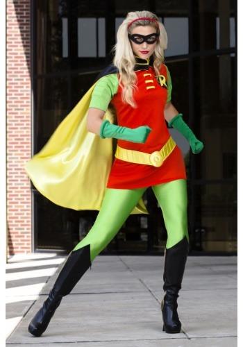 Adult DC Women's Robin Costume