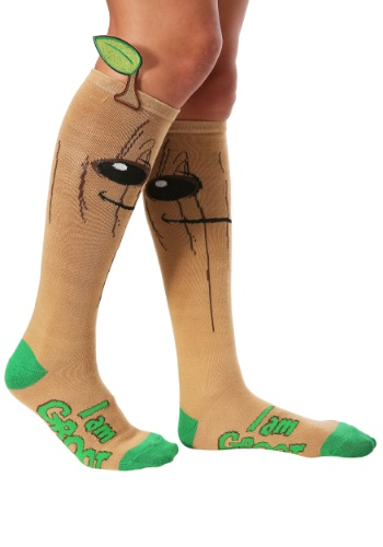 Guardians of the Galaxy I Am Groot Knee High Socks
