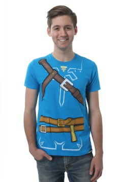 Men's Legend of Zelda Breath of the Wild Costume T-Shirt