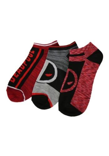 Deadpool Ankle Socks 3 Pack