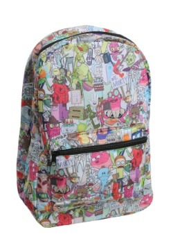 Rick and Morty All-Over Print Backpack