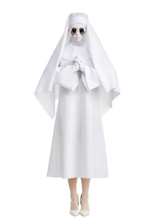 American Horror Story Deluxe The White Nun Women's Costume