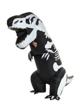 Adult Inflatable Skeleton T-Rex Costume