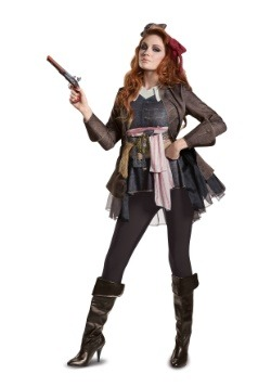 Captain Jack Sparrow Women's Deluxe Costume