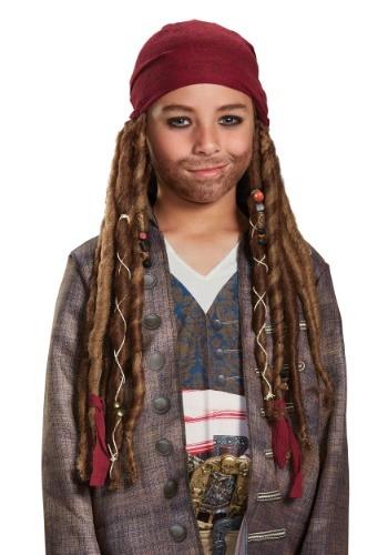 Jack Sparrow Child Bandana & Dreads Kit