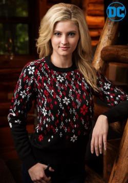 Harley Quinn Diamond Womens Sweater