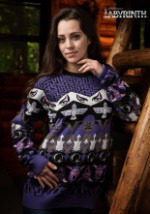 Labyrinth Character Sweater