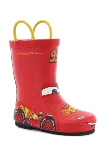 Cars 3 Lightning McQueen Rain Boots