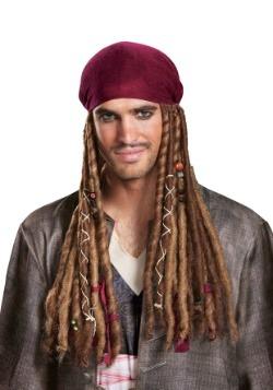 Jack Sparrow Adult Bandana w/ Dreads