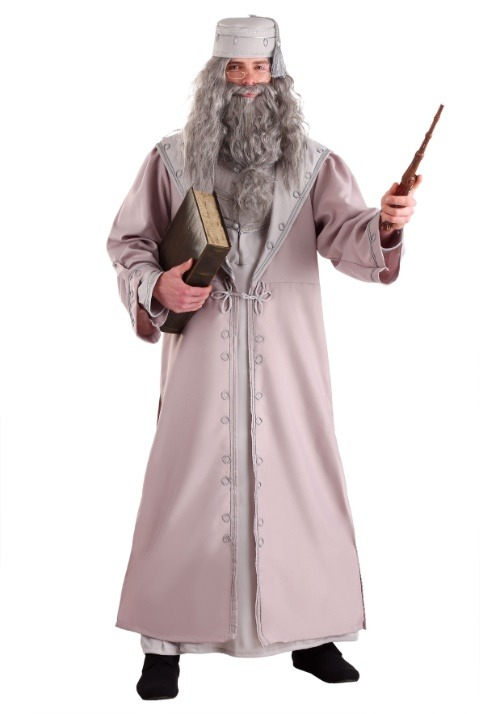Deluxe Plus Size Adult Dumbledore Costume