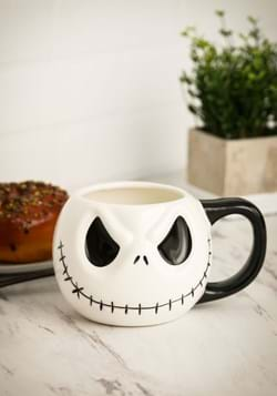 Jack Skellington Sculpted Mug