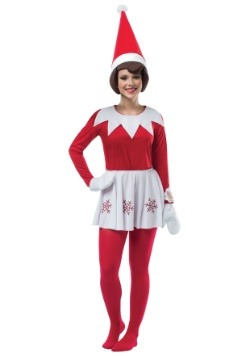 Women's Elf on the Shelf Costume