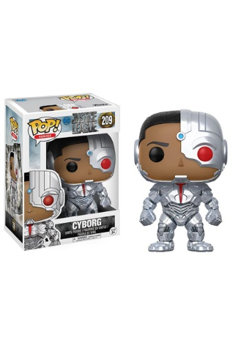 POP Justice League- Cyborg
