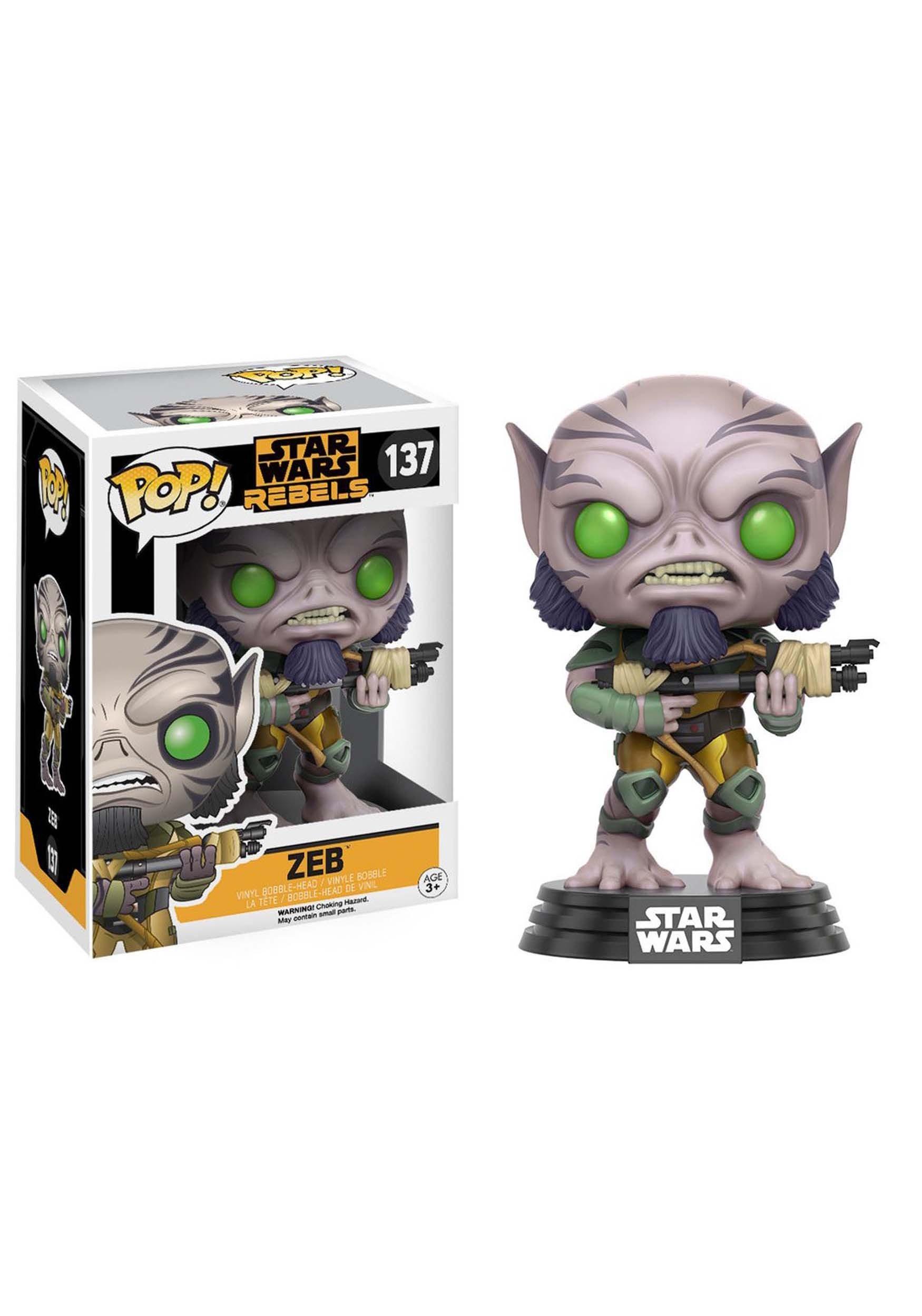 Zeb Pop Bobblehead Figure From Star Wars Rebels