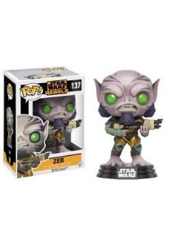 POP Star Wars: Rebels - Zeb Bobblehead Figure