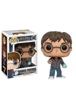 POP Harry Potter: Harry w/ Prophecy Vinyl Figure