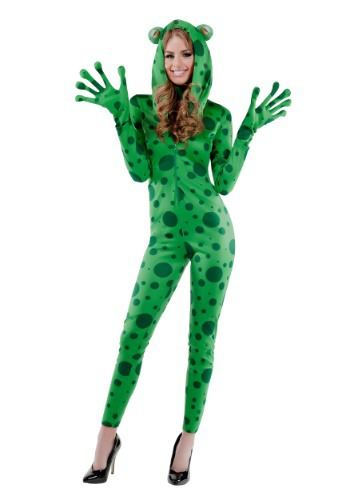 Frisky Frog Costume For Women