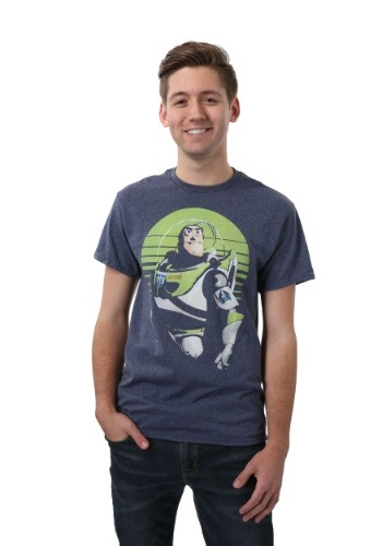 Sight On Stars Buzz Lightyear Men's T-Shirt