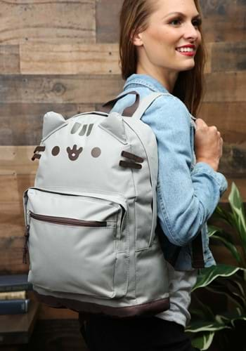 Pusheen Cat Face Backpack