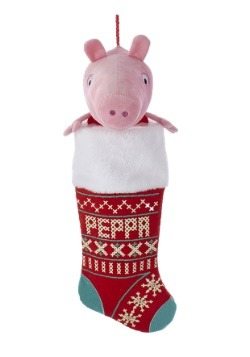 "Peppa Pig 19"" Plush Head Stocking"