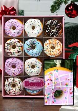 Miniature Donut Ornament Set-12 pc