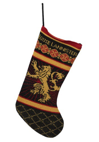 Game of Thrones Lannister Sigil Knit Stocking