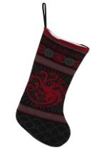 Game of Thrones Targaryen Sigil Knit Stocking