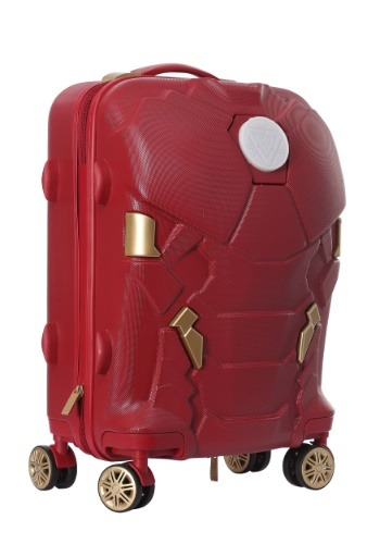 Iron Man Cabin Case Luggage with LED Light