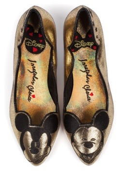 Irregular Choice Disney Glitzy Mickey Mid Heels