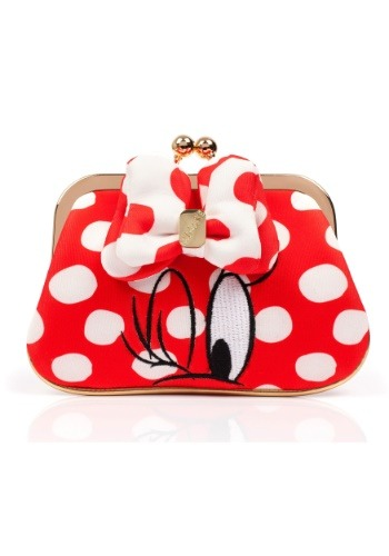 Disney Minnie Mouse Red Polka Dot Coin Purse