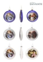Labyrinth Christmas Disk Ornaments 3-Pack